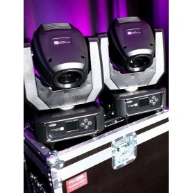 2 x Showtec PHANTOM 65 + CASE