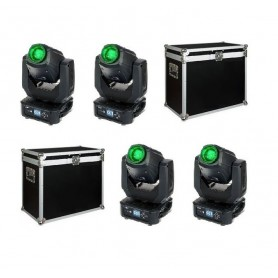 4 x SHOWTEC PHANTOM 65 CASE SET 4