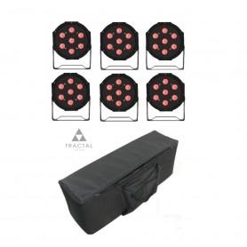 Fractal LED PAR 7x10W COVER SET 6