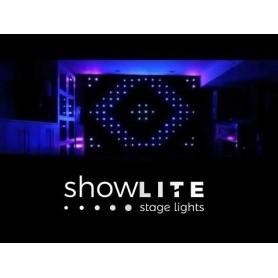 LED CURTINE STRADRAPE 3m x 2,5m RGB LED