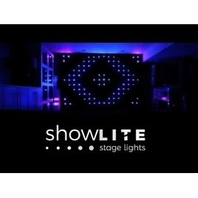 LED CURTINE LEDVISION 6m x 3m RGB LED