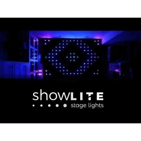 ShowLITE LEDVISION CURTAIN P18 RGB LED 6x3M