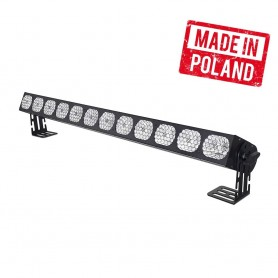 FLASH [PL] VINTAGE LED WASHER 12x30W White 4w1 (2000K, 3000K, 4000K, 9000K) COB 12 SEKCJI - SHORT MK2