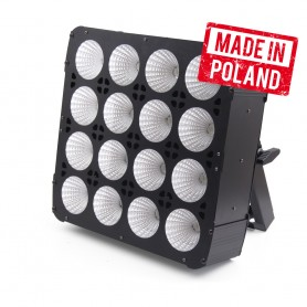 Flash [PL] LED BLINDER 16x30 W RGBW 4in1 COB 16 SECTIONS mk2