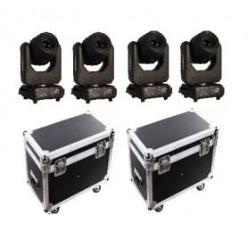 4 x FRACTAL SYMETRO SPOT 100 CASE SET