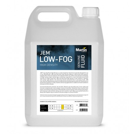 JEM Low-Fog Fluid High Density (C3) 5L