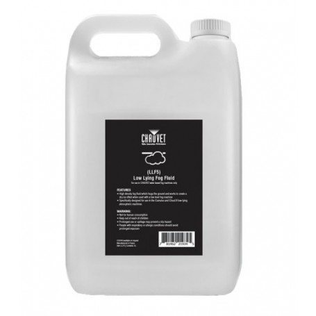 Chauvet LOW LYING FOG FLUID (LLF5) 5L