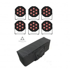 Fractal LED PAR 7x10W COVER SET 6