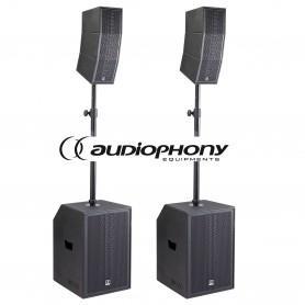 Audiophony MOJO 2200 CURVE aktywny zestaw nagłośnienia