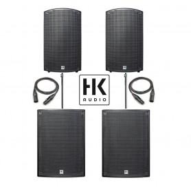 HK Audio SONAR 112/115 SET aktywny zestaw