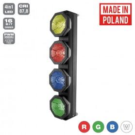 Flash [PL] OCTO SUNBAR 4x30W 4in1 COB RGBW 4 SECTIONS mk2
