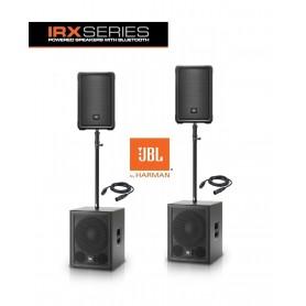 JBL IRX112BT / IRX115S LARGE SET aktywny zestaw nagłośnienia