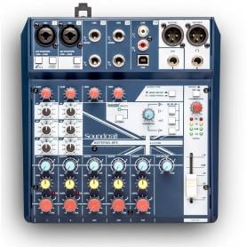Soundcraft Notepad-8FX mikser z efektem