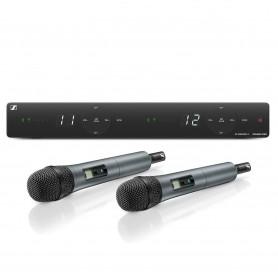 Sennheiser XSW 1-825 DUAL-A zestaw bezprzewodowy wokalowy 548-572 MHz
