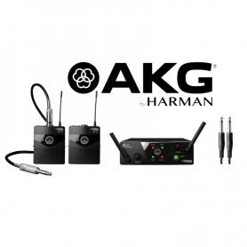 AKG WMS40 MINI2 DUAL INSTRUMENTAL SET instrumentalny zestaw bezprzewodowy