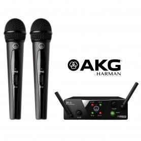 AKG WMS 40 MINI 2 DUAL VOCAL SET system bezprzewodowy
