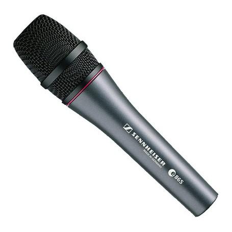 Sennheiser E-865 mikrofon pojemnościowy wokalowy superkardioidalny