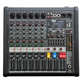 DNA HLC 6 analogowy mikser audio 6 kanałów