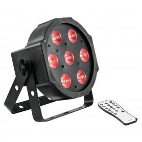 Eurolite LED SLS-7 HCL FLOOR reflektor slim par